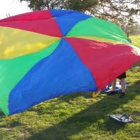 Jumping Jim's Parachute Game